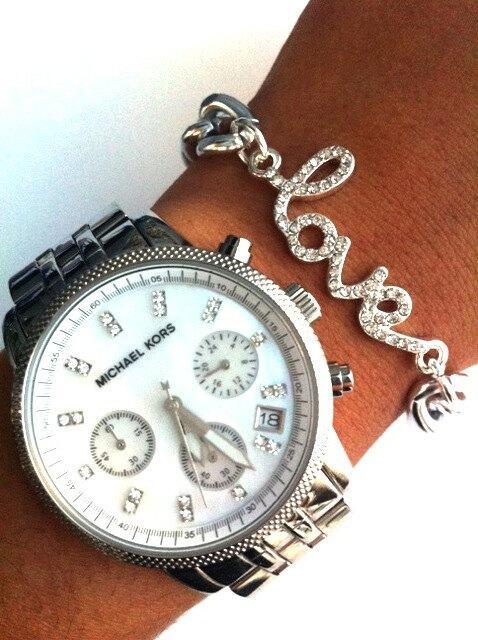 L O V E silver Bracelet