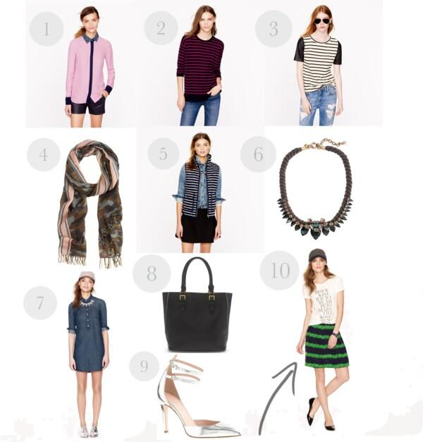 J.Crew Fall Picks