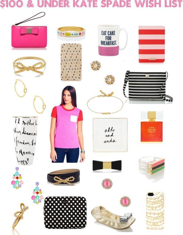 $100 & Under Kate Spade Wish List