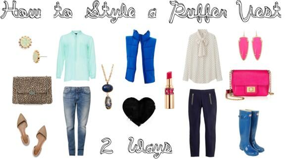 How to Style a Puffer Vest 2 Ways