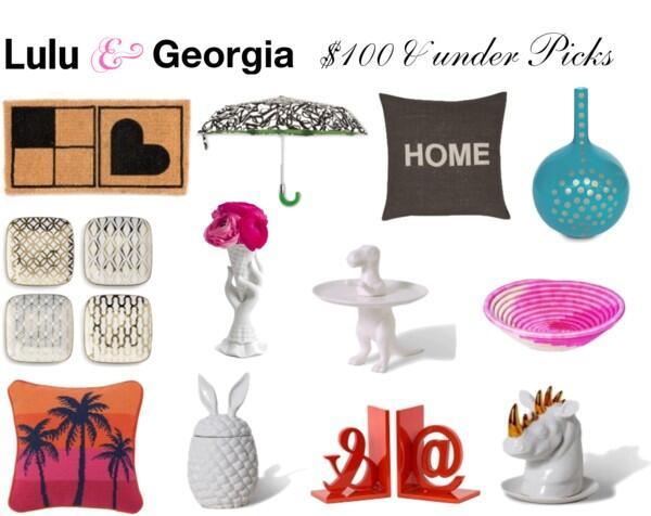 Lulu & Georgia $100 & under Picks