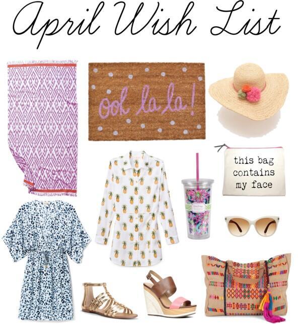 April Wish List