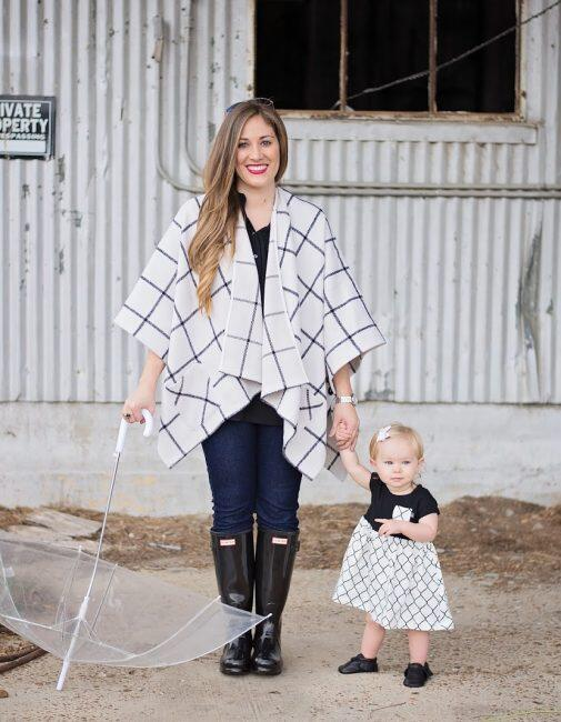 Mommy and Me Style: Hunter Boots featured by top Memphis fashion blogger, Walking in Memphis in High Heels.