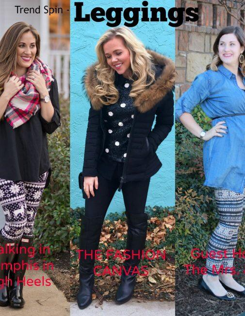 Best Winter Leggings for Women featured by top Memphis fashion blogger, Walking in Memphis in High Heels.