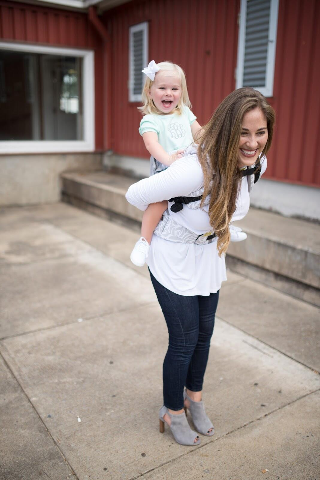 8fde8f53090 Babywearing at the Memphis Farmers Market + LILLEbaby Carrier Giveaway!!