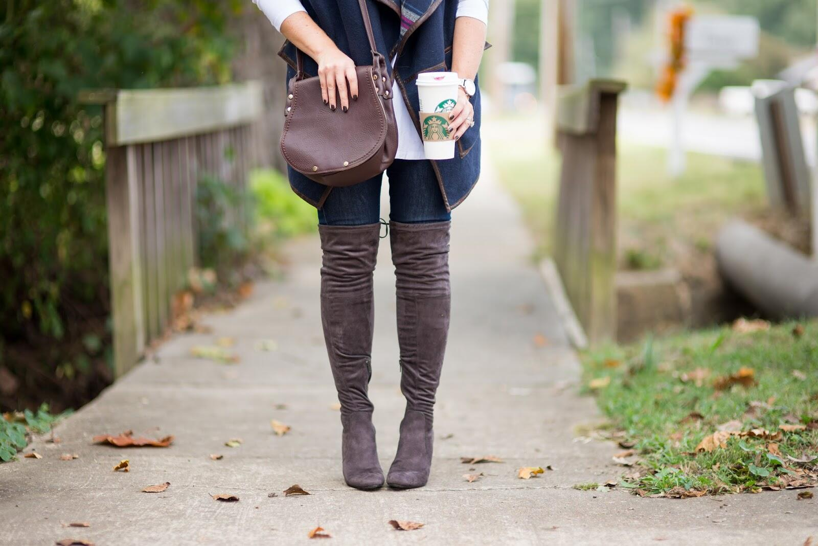 How to Wear Over the Knee Boots tips featured by top Memphis fashion blogger, Walking in Memphis in High Heels
