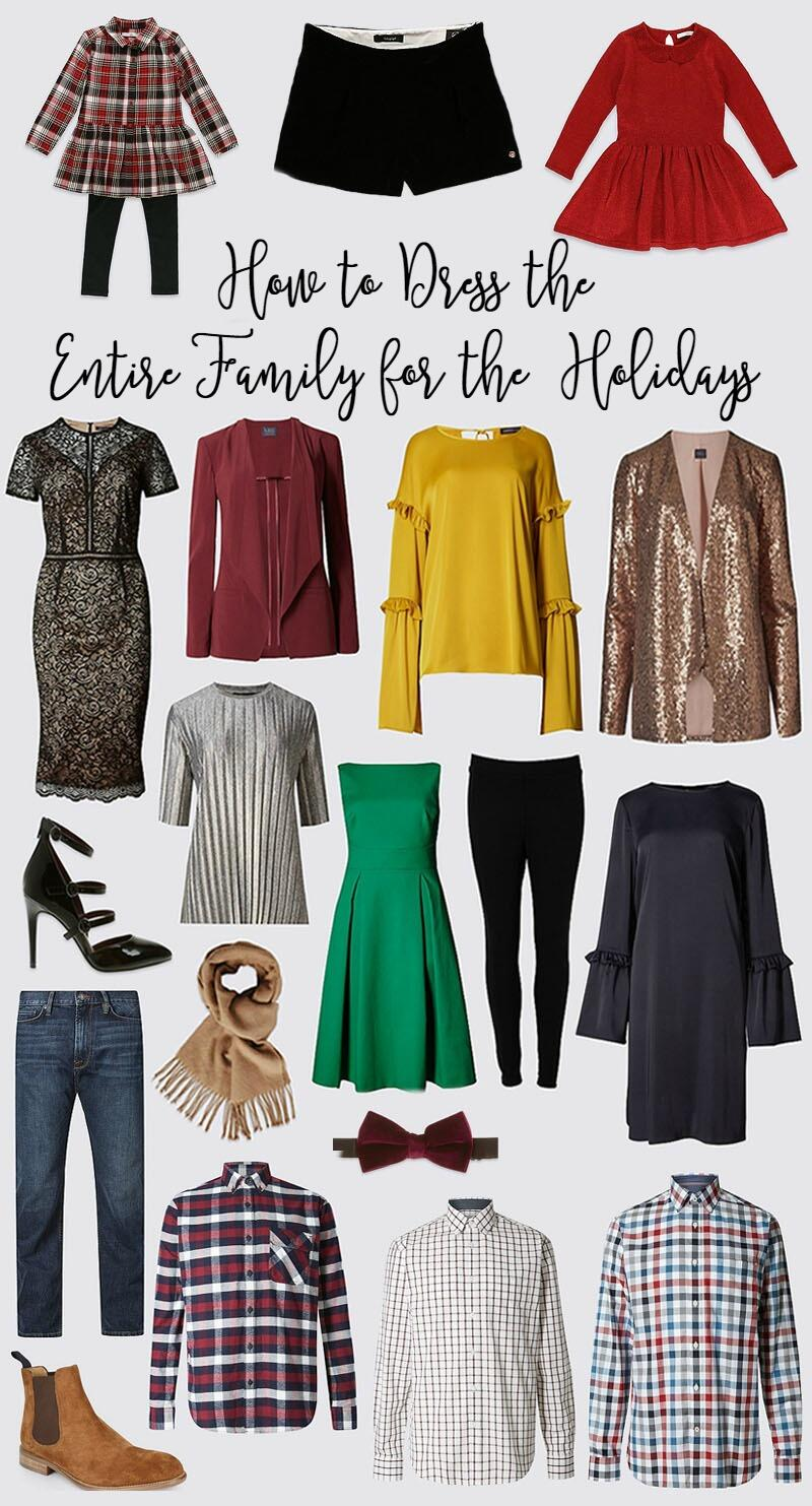 Fantastic Holiday Outfits For Your Entire Family by East Memphis fashion blogger Walking in Memphis in High Heels