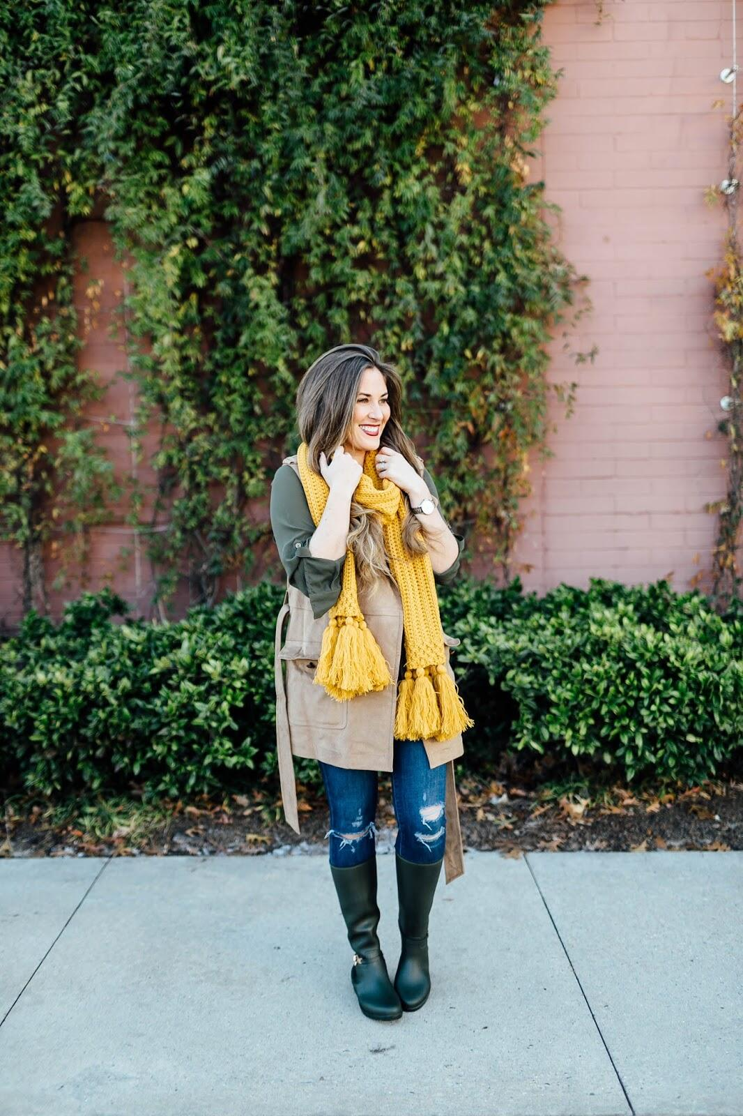 Cute Winter Rain Boots for Women featured by top Memphis fashion blogger, Walking in Memphis in High Heels.