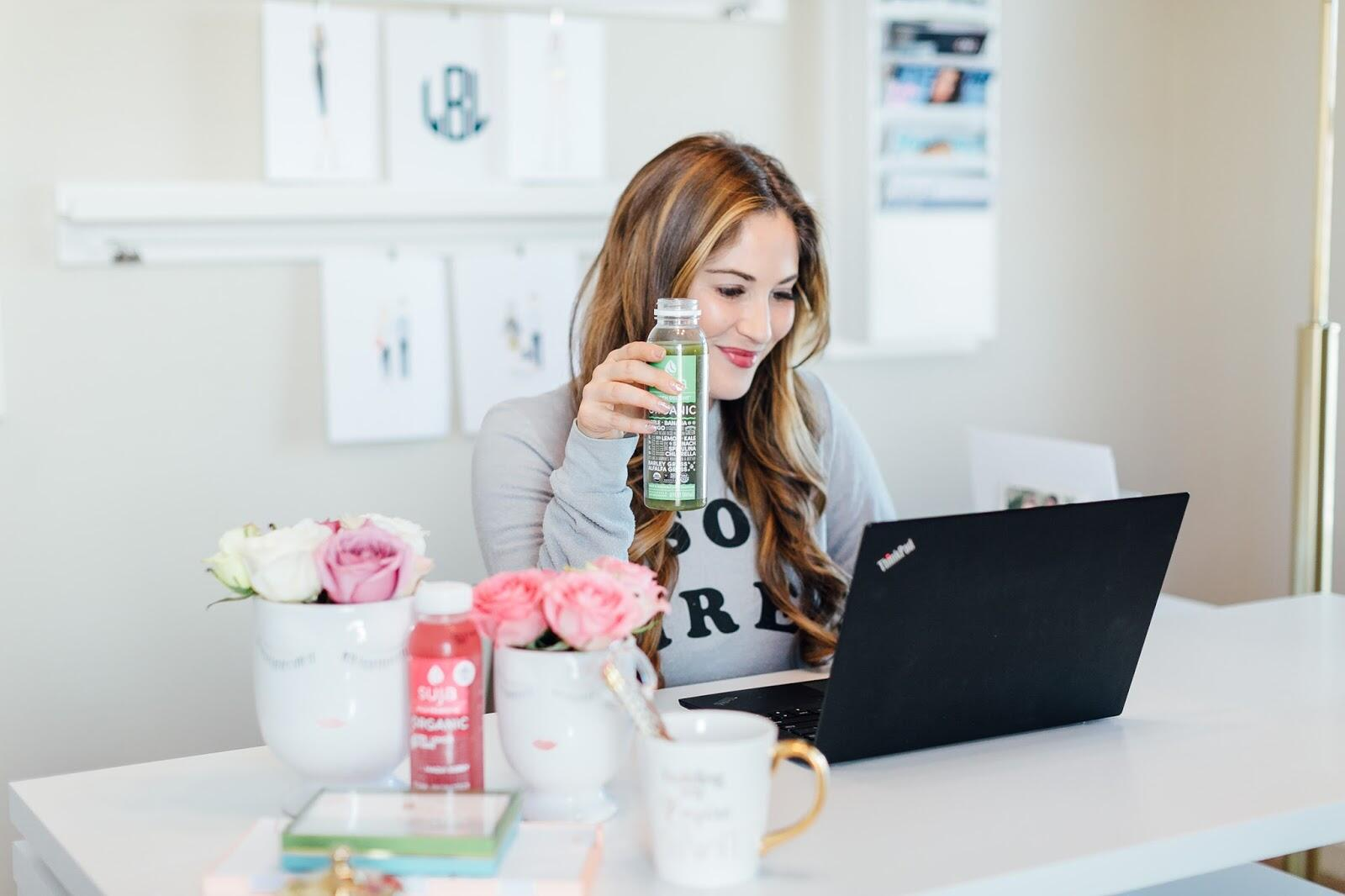 Everything You've Wanted to Know about Cold Pressed Juices + Suja Juice Giveaway by lifestyle blogger Laura of Walking in Memphis in High Heels