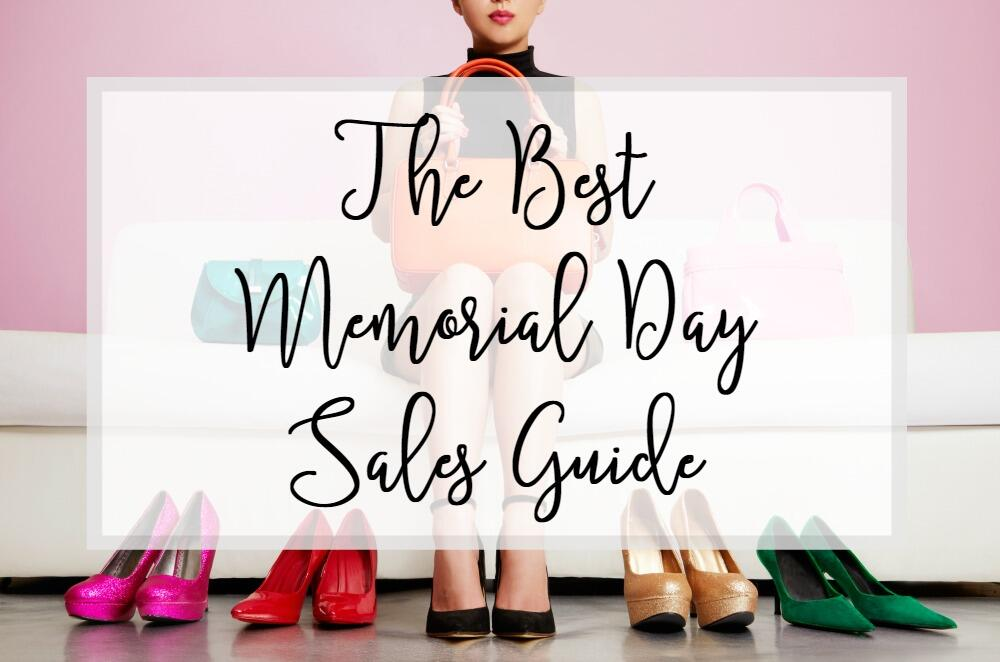 The Best Memorial Day Sales Guide by fashion blogger Laura of Walking in Memphis in High Heels.