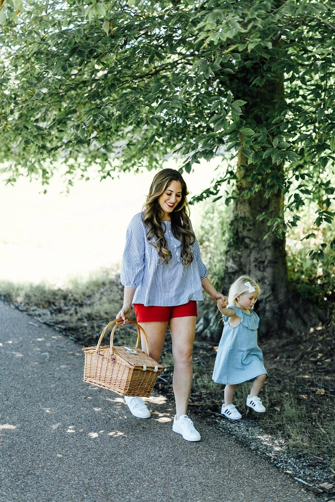 Trend Spin Linkup - Casual Style by fashion blogger Laura of Walking in Memphis in High Heels