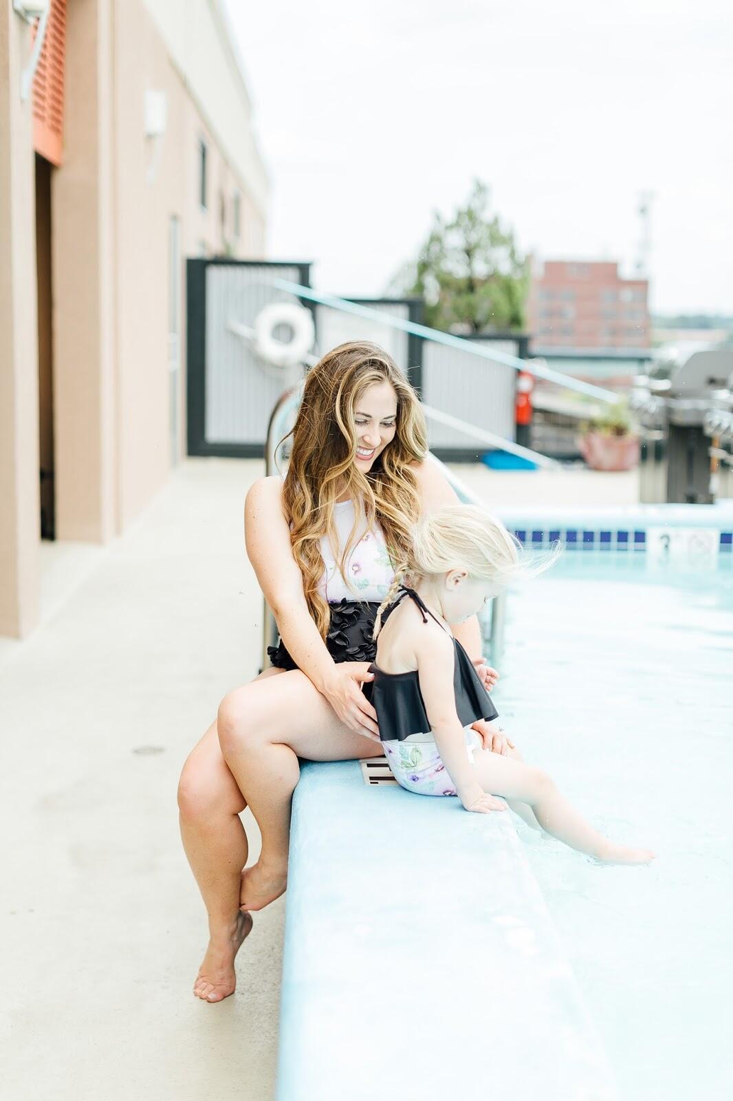 Trend Spin Linkup - Kortni Jeans Swimwear Giveaway by fashion blogger Laura of Walking in Memphis in High Heels