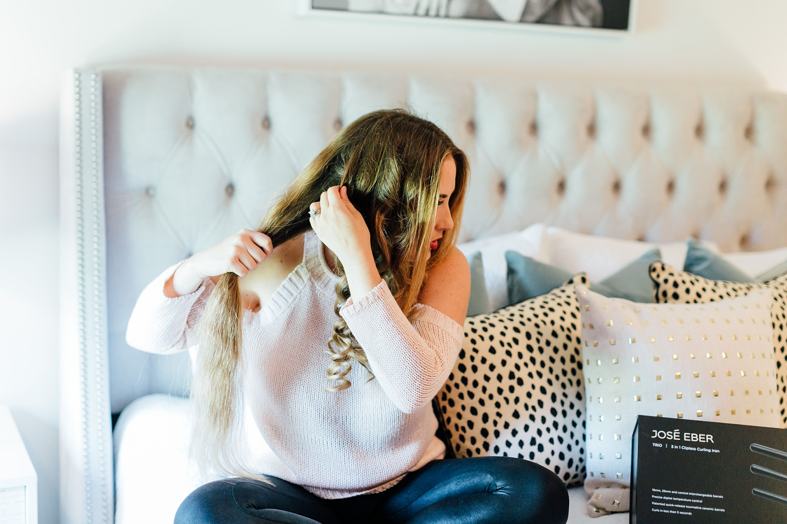 Mermaid Curls Tutorial: How I've Been Curling My Hair Wrong My Entire Life by fashion blogger Walking in Memphis in High Heels