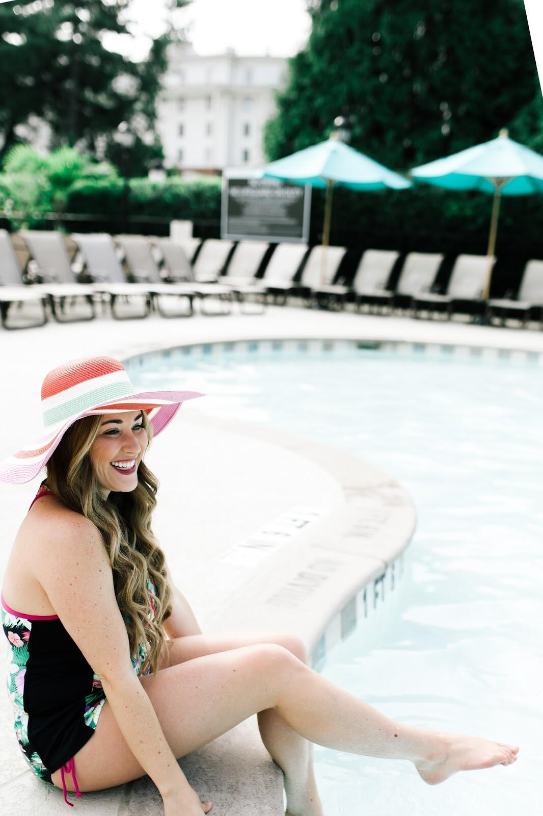 The Best Cute Swimsuits For Moms by Memphis mom blogger Walking in Memphis in High Heels