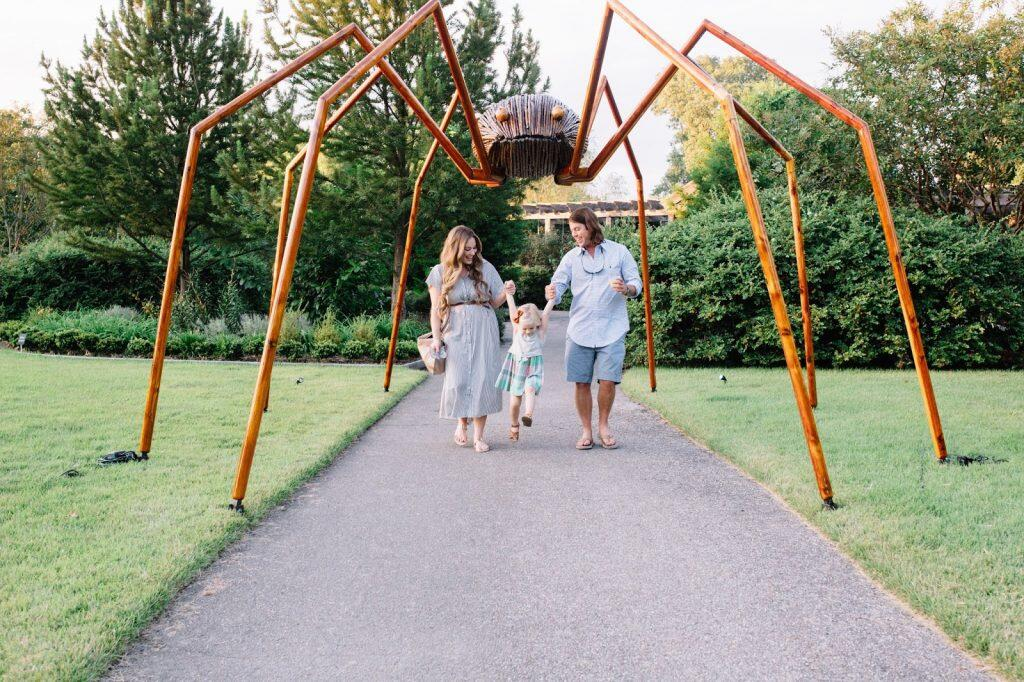 Memphis Botanic Garden Big Bugs by Terminix by East Memphis Mom blogger Walking in Memphis in High Heels
