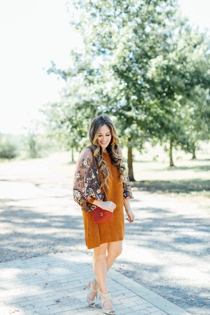 What to Wear to a Fall Party or Event by East Memphis fashion blogger Walking in Memphis in High Heels