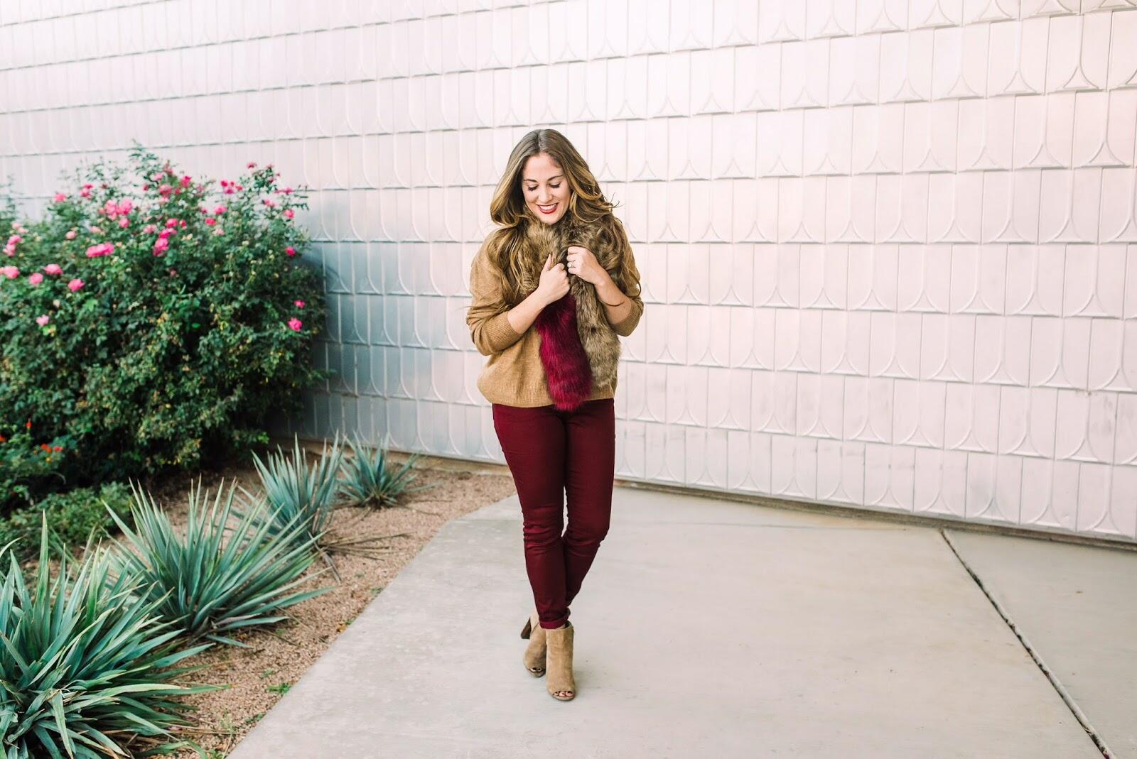 How to Wear Colored Jeans This Fall by East Memphis fashion blogger Walking in Memphis in High Heels