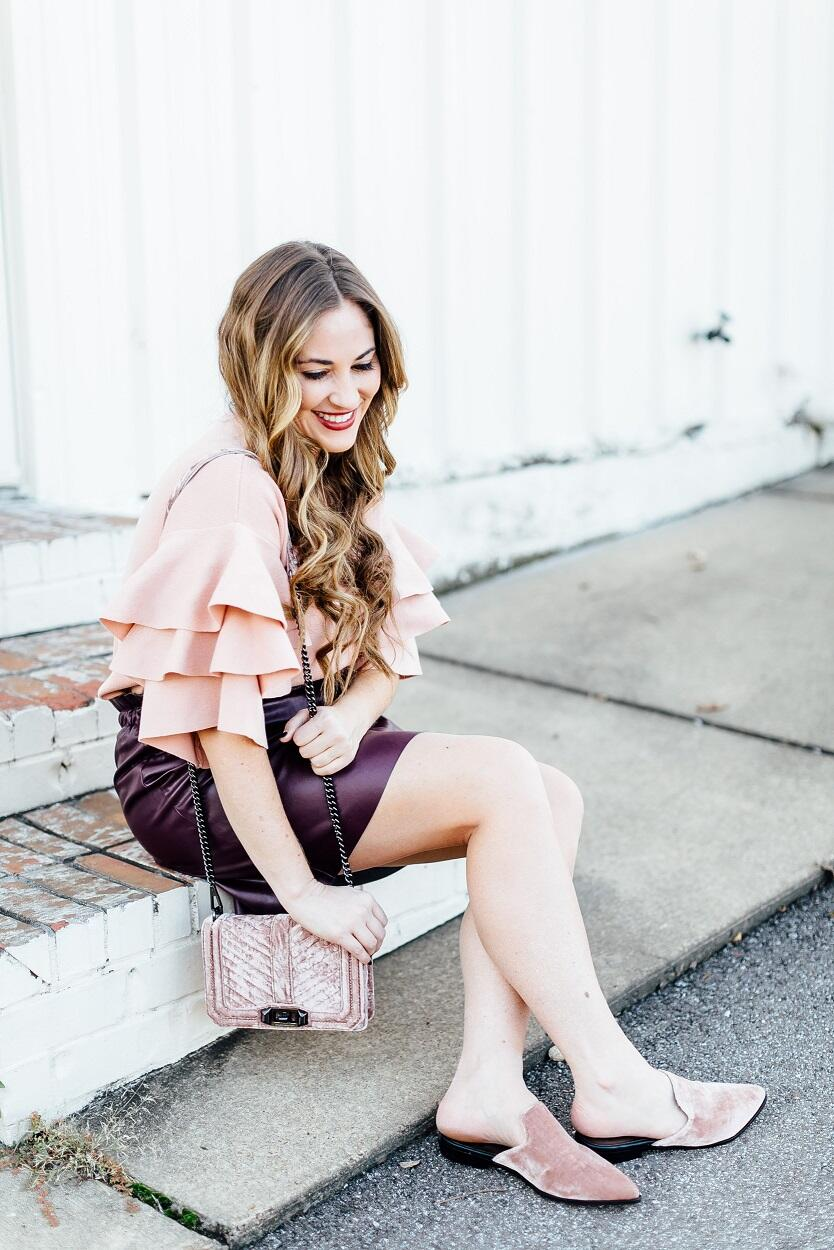 Trend Spin Linkup - Thanksgiving Dinner Attire by East Memphis fashion blogger Walking in Memphis in High Heels