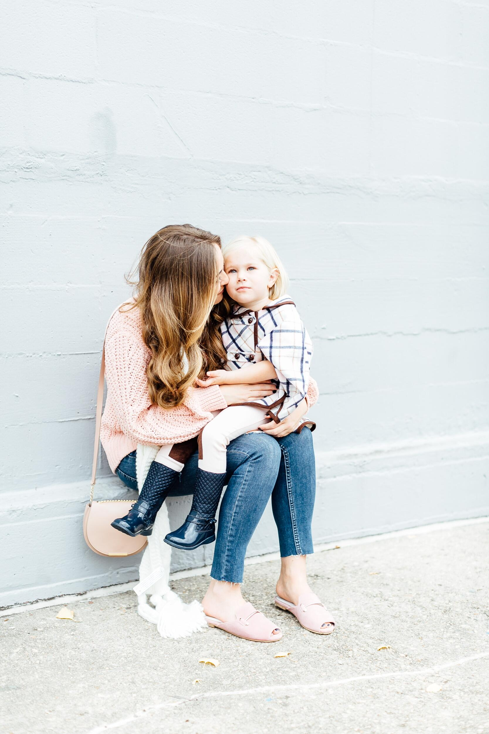 Plaid Cape for Toddlers from Janie and Jack by East Memphis mom blogger Walking in Memphis in High Heels