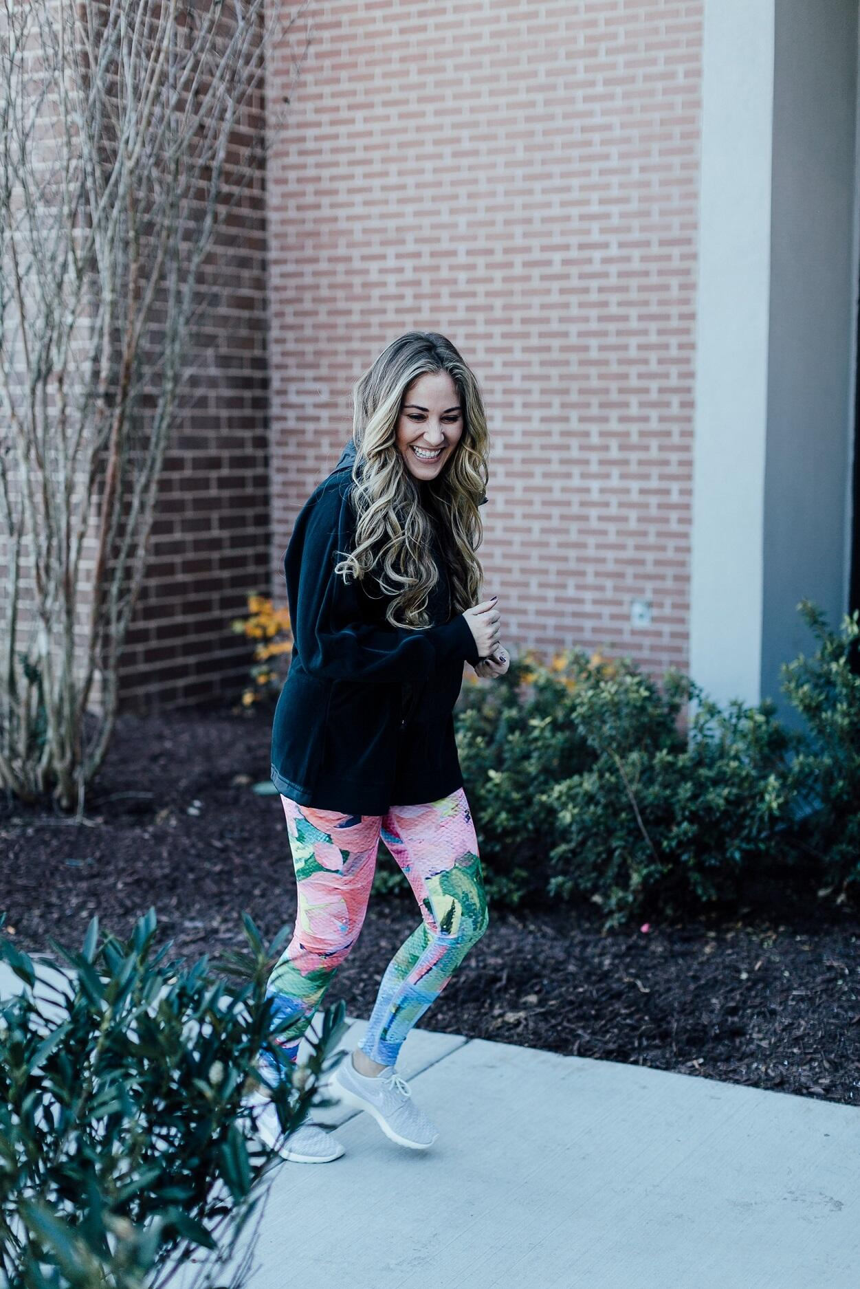 My Winter Workout Routine by East Memphis style blogger Walking in Memphis in High Heels