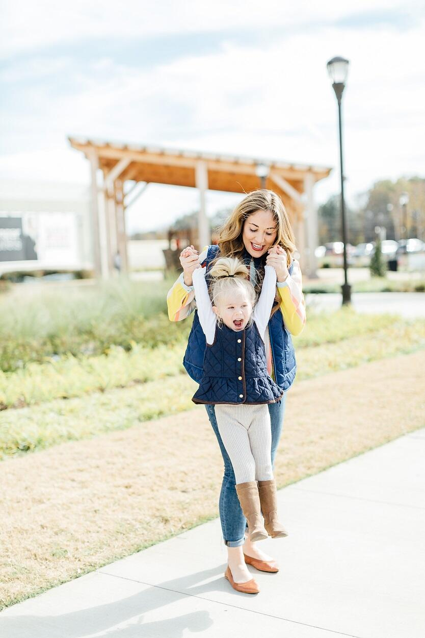 The Quilted Puffer Vests You Need by East Memphis fashion blogger Walking in Memphis in High Heels