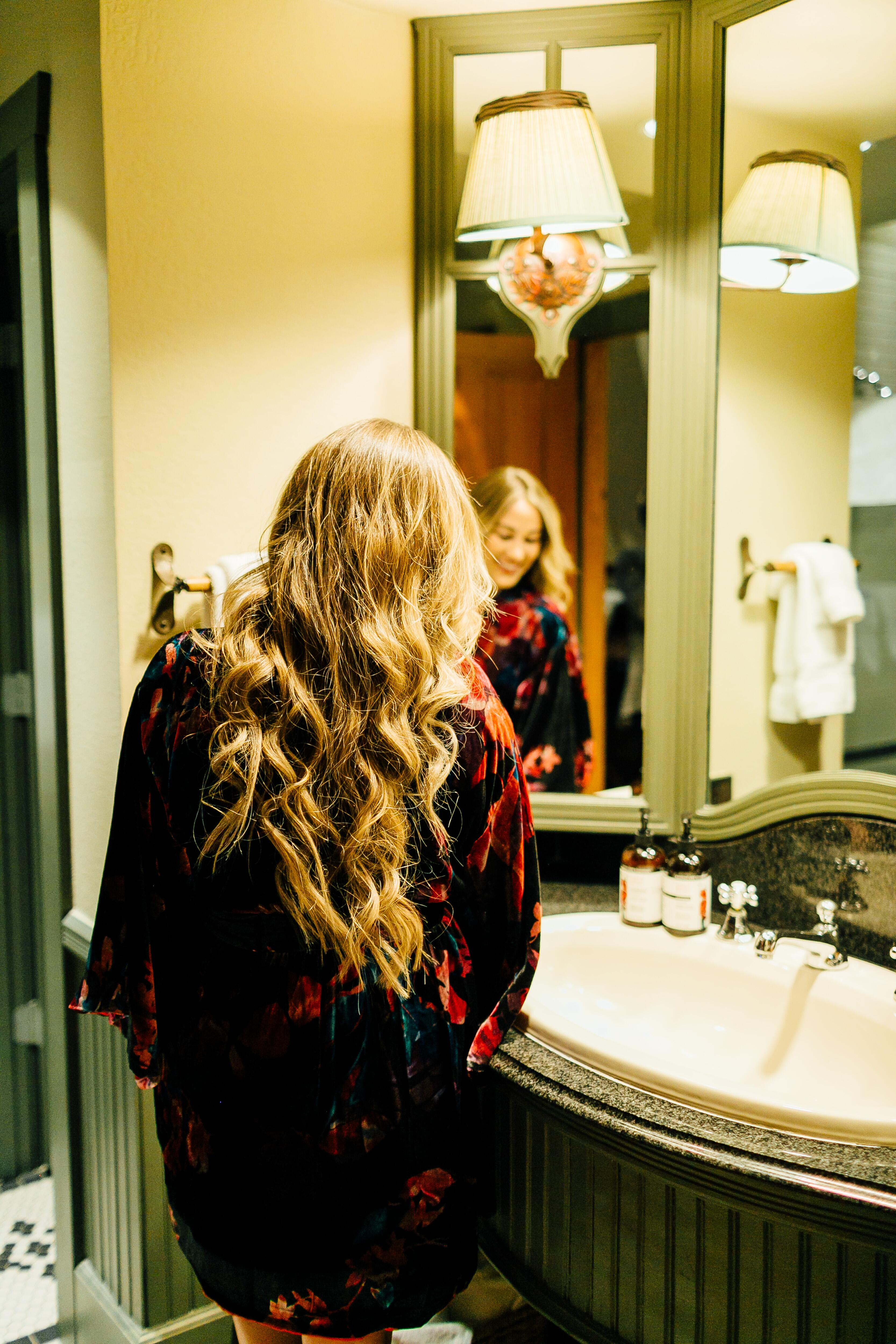 How to Add Volume to Your Hair by East Memphis style blogger Walking in Memphis in High Heels