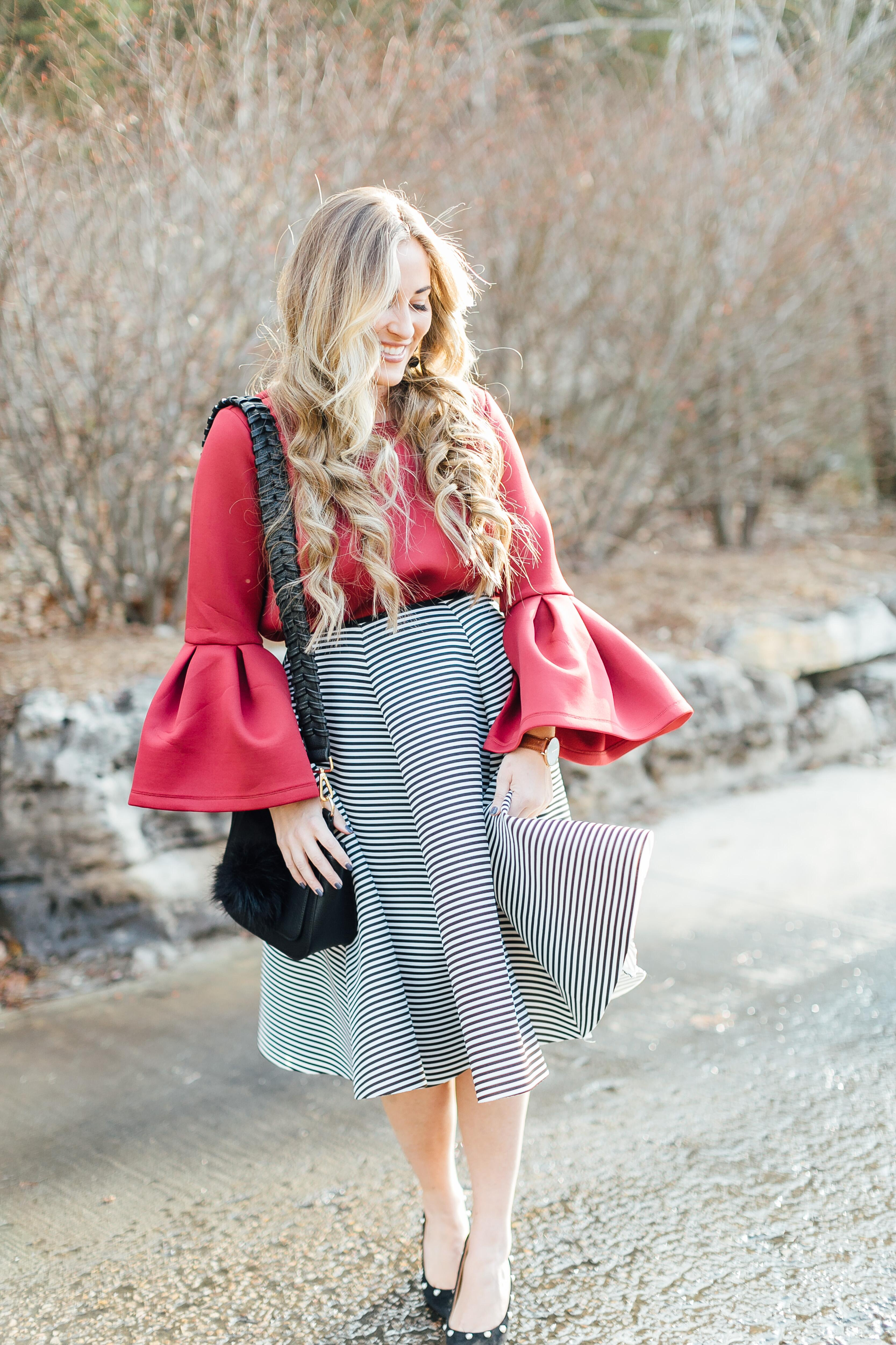Holiday Style by East Memphis fashion blogger Walking in Memphis in High Heels