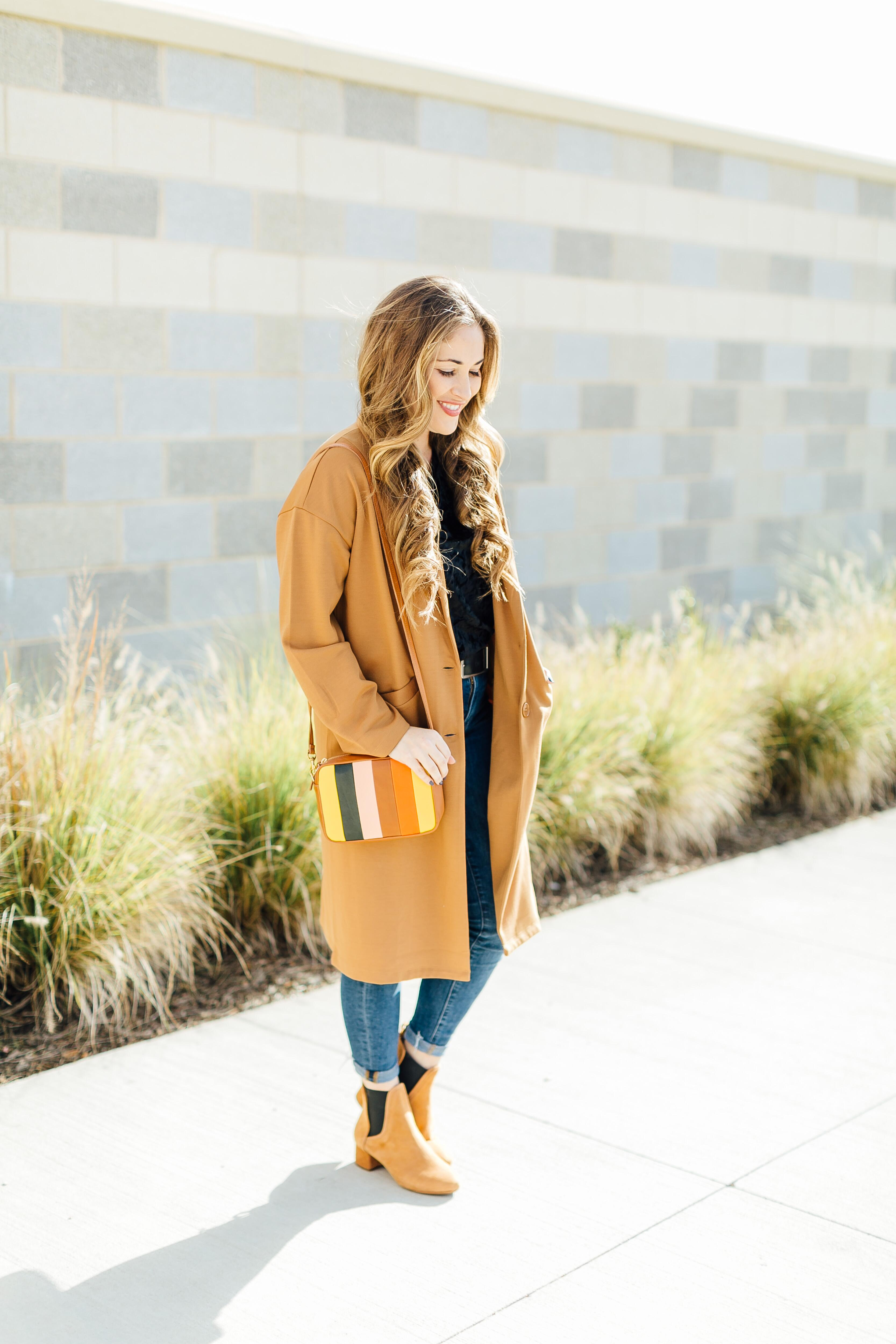 How to Wear a Longline Coat by East Memphis style blogger Walking in Memphis in High Heels