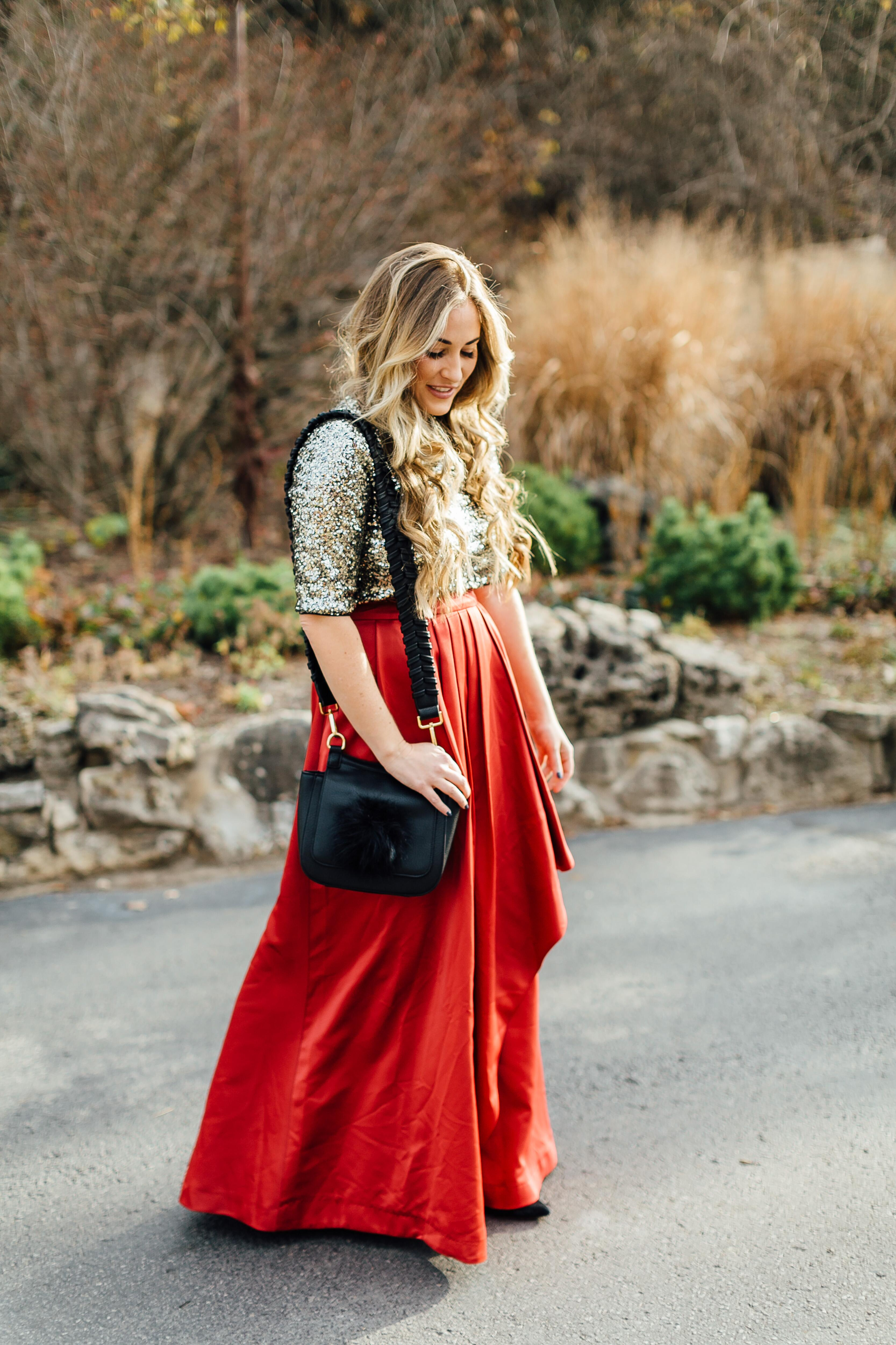 Glitz and Glam by East Memphis fashion blogger Walking in Memphis in High Heels