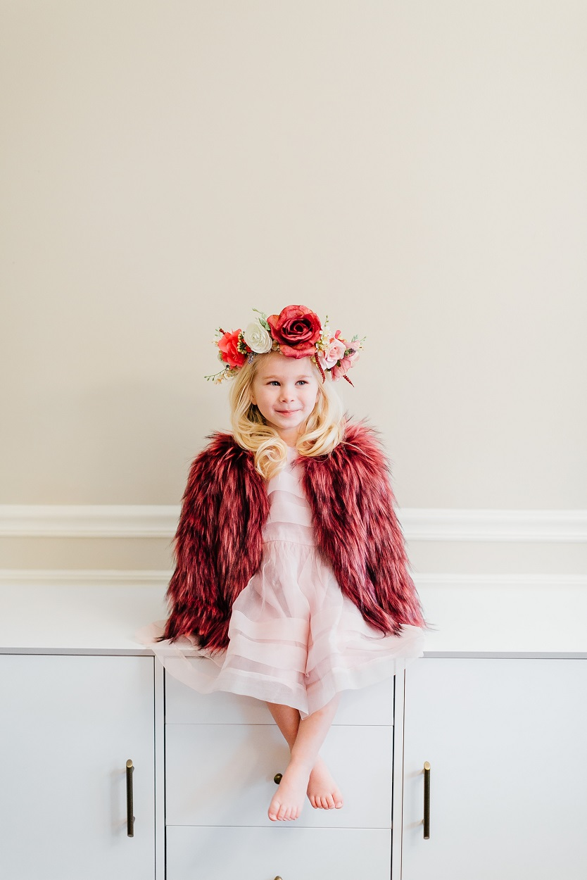 A Stunning Toddler Outfit for Special Occasions by East Memphis mom blogger Walking in Memphis in High Heels
