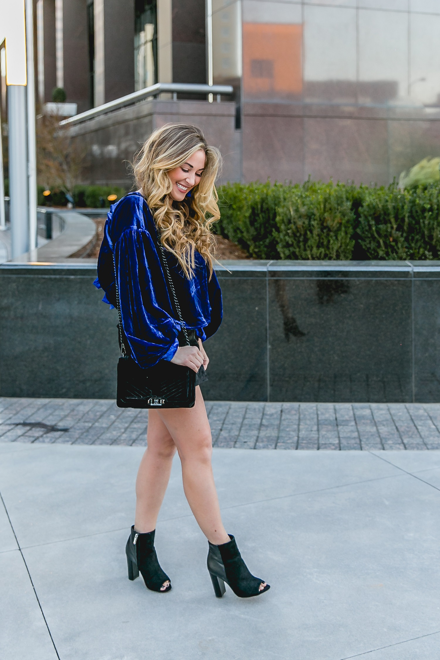 Winter Booties by popular East Memphis fashion blogger Walking in Memphis in High Heels