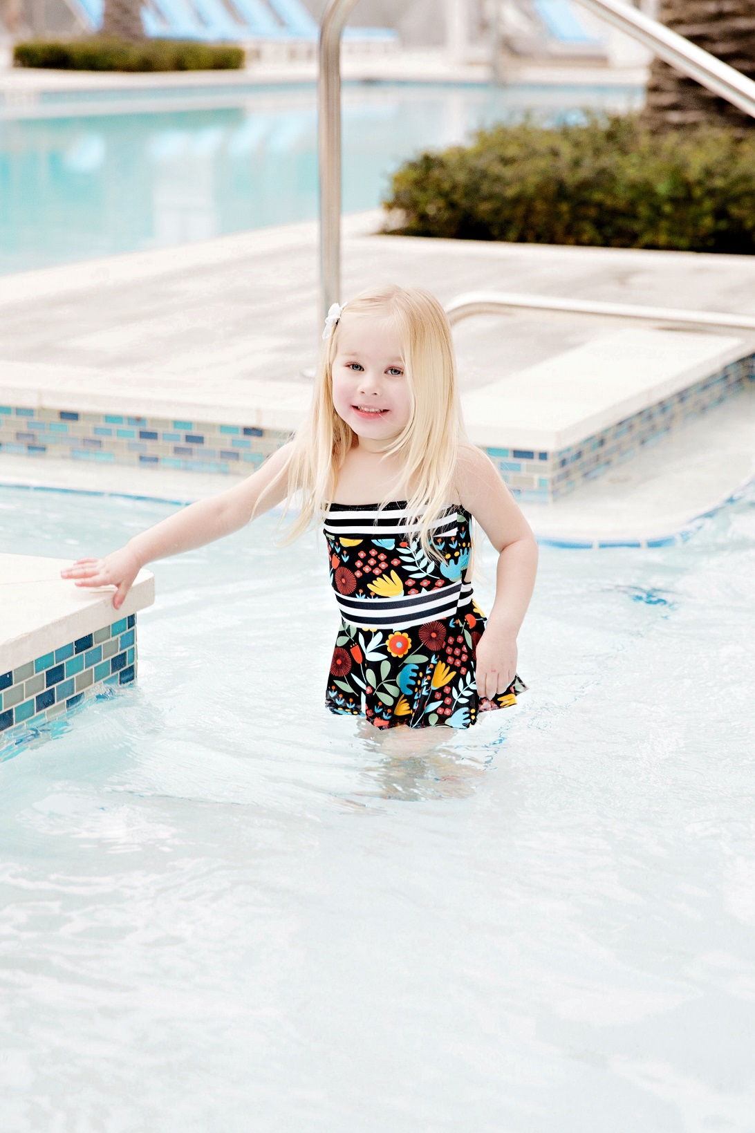 Cute Mom Swimsuits by popular fashion blogger Walking in Memphis in High Heels