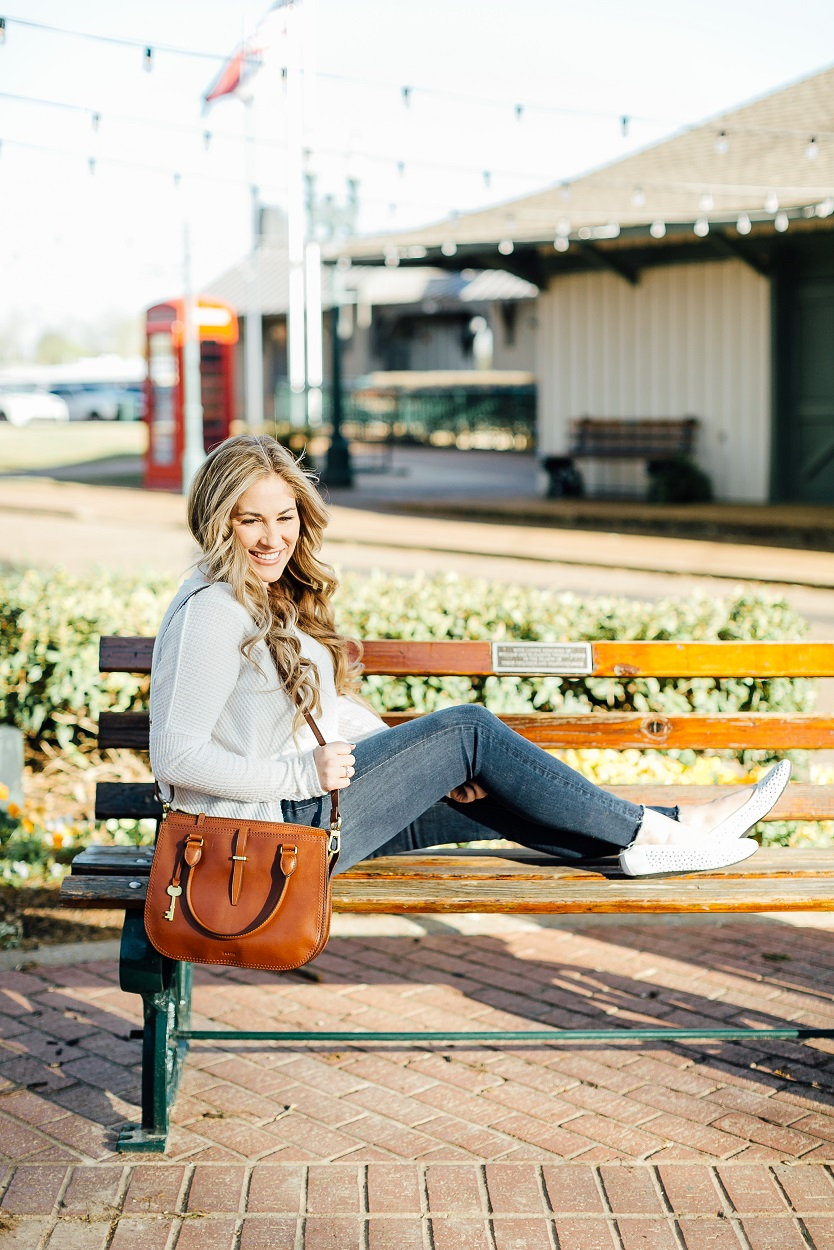 The Cutest Spring Flats styled by popular fashion blogger, Walking in Memphis in High Heels