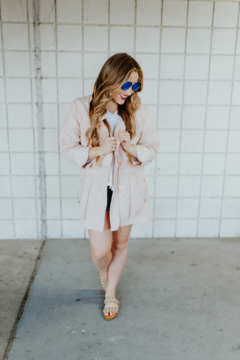 Tart Collections Jacket styled by popular fashion blogger Walking in Memphis in High Heels