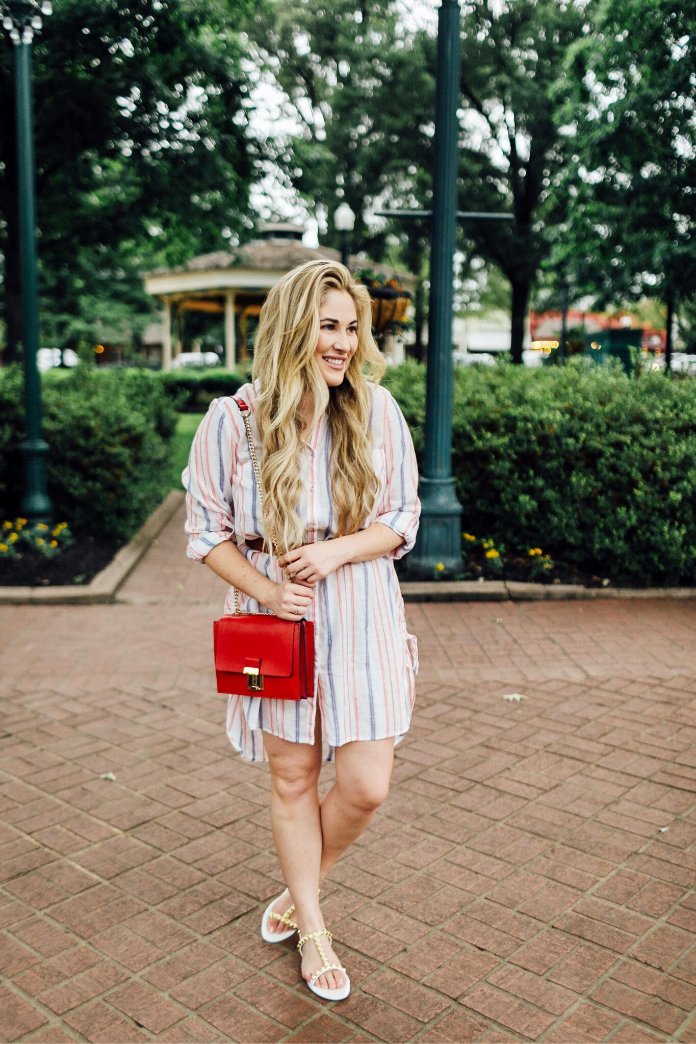 The Perfect Striped Shirtdress for Summer