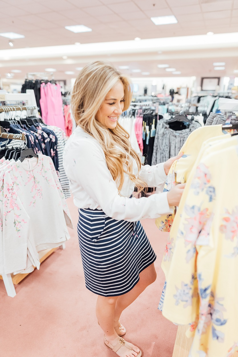 Spring Skirts & Dresses featured by popular style blogger, Walking in Memphis in High Heels