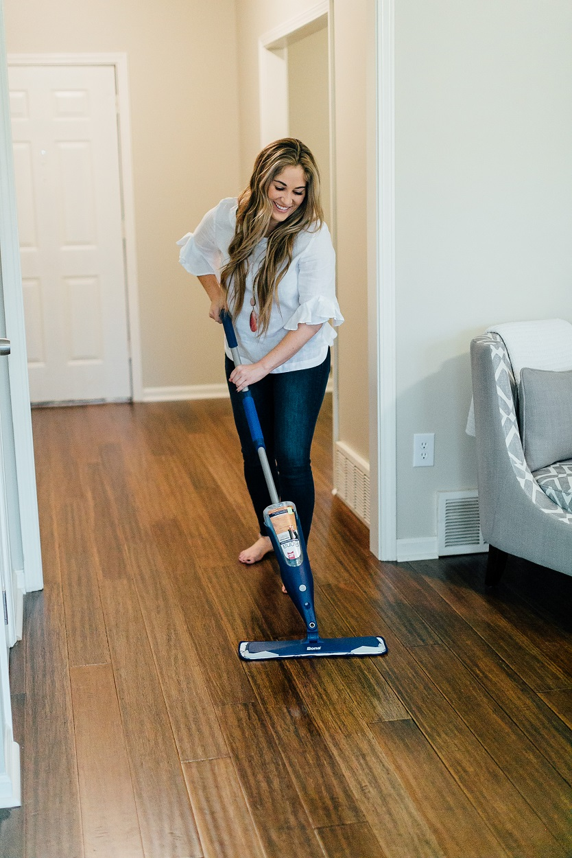 The Easiest Way to Clean All Your Types of Floors by popular lifestyle blogger, Walking in Memphis in High Heels