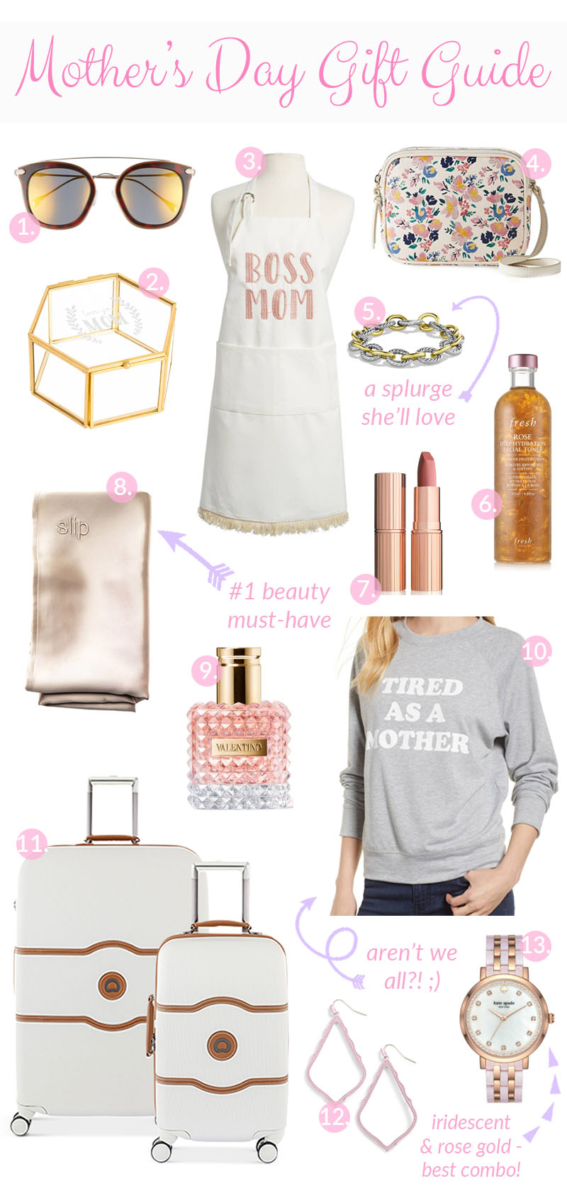 The Ultimate Mother's Day Gift Guide by popular style blogger, Walking in Memphis in High Heels