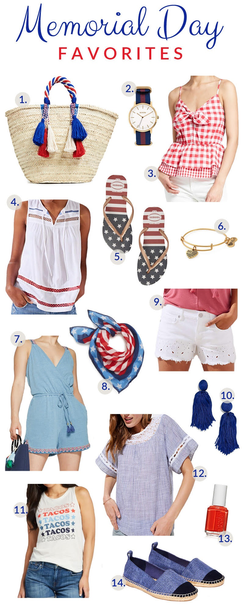 My Favorite Memorial Day Outfits
