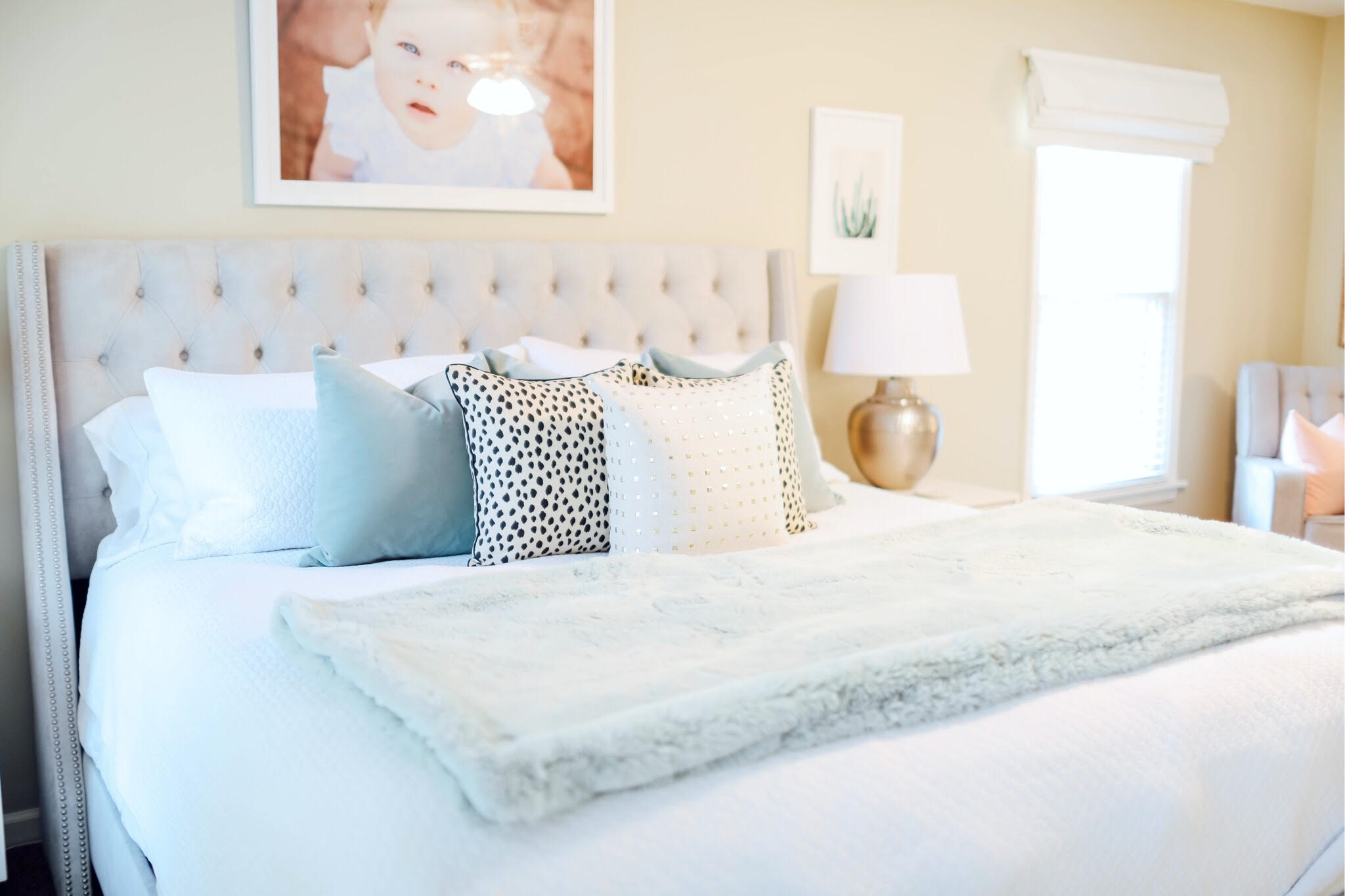 My Master Bedroom Update & Bathroom Update for Summer featured by popular lifestyle blogger Walking in Memphis in High Heels