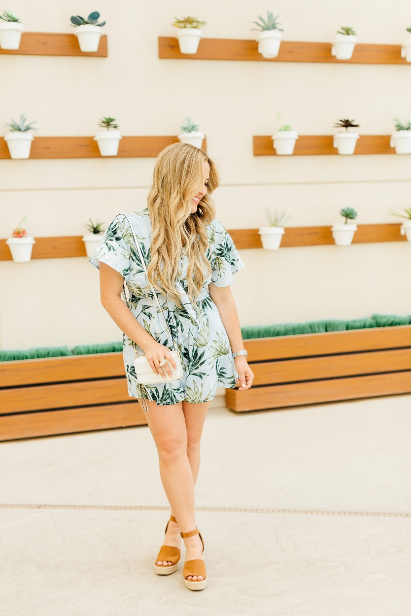 Summer Rompers featured by popular fashion blogger, Walking in Memphis in High Heels