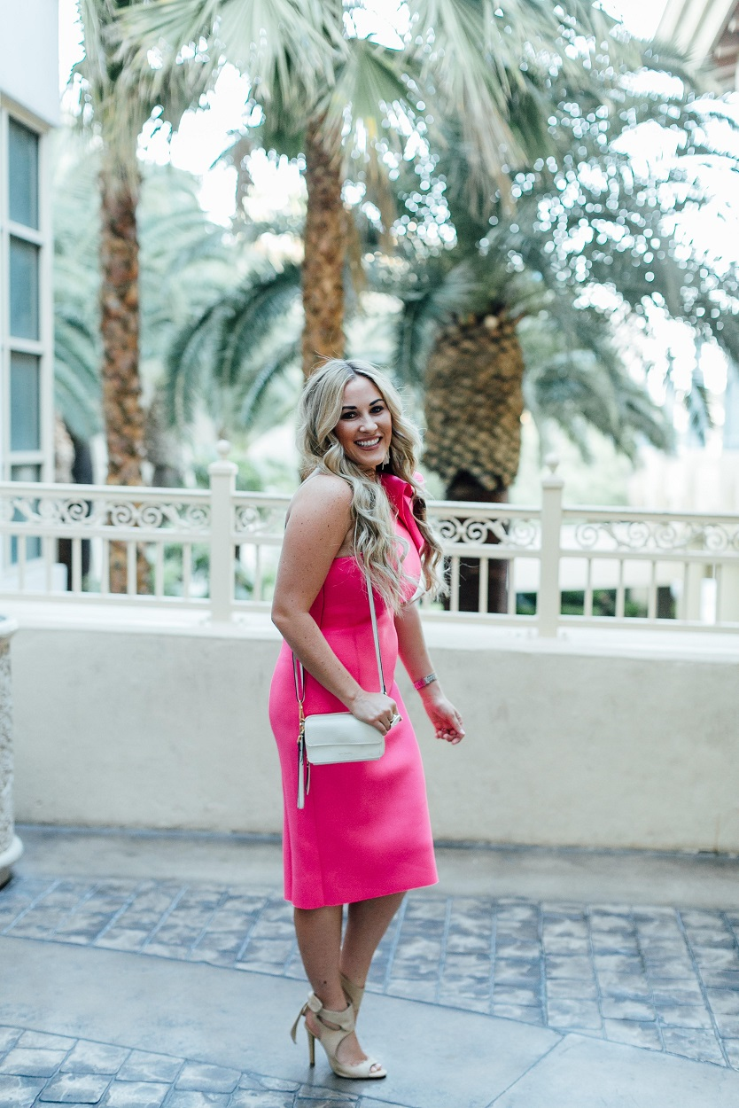 The Perfect Summer Party Dress for my Birthday featured by popular fashion blogger, Walking in Memphis in High Heels