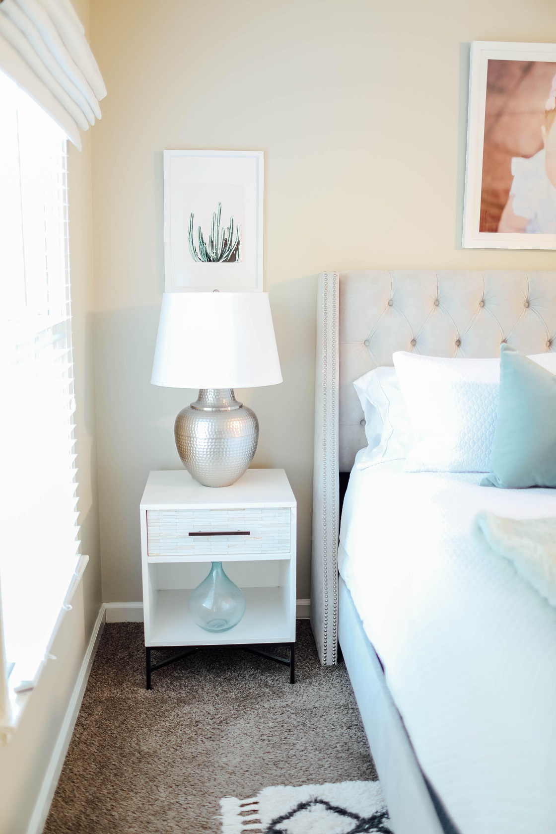 My Master Bedroom & Bathroom Updates for Summer