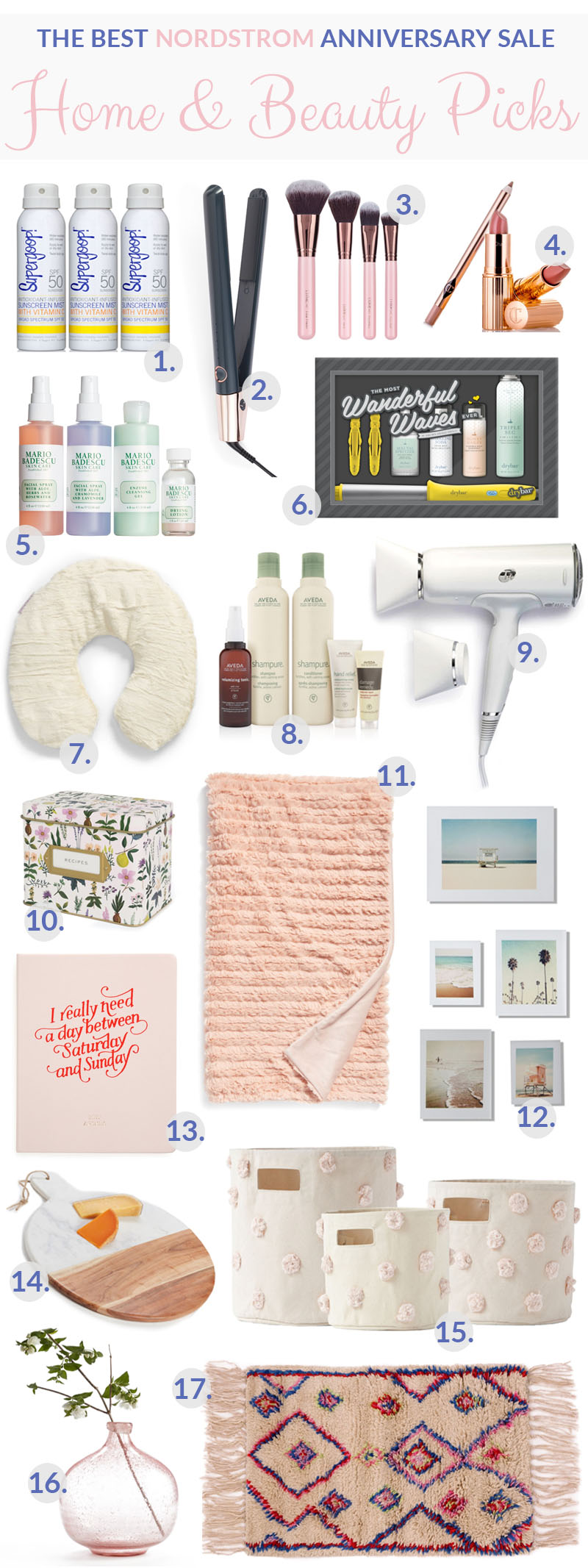 The Best Nordstrom Anniversary Sale Home & Beauty Picks