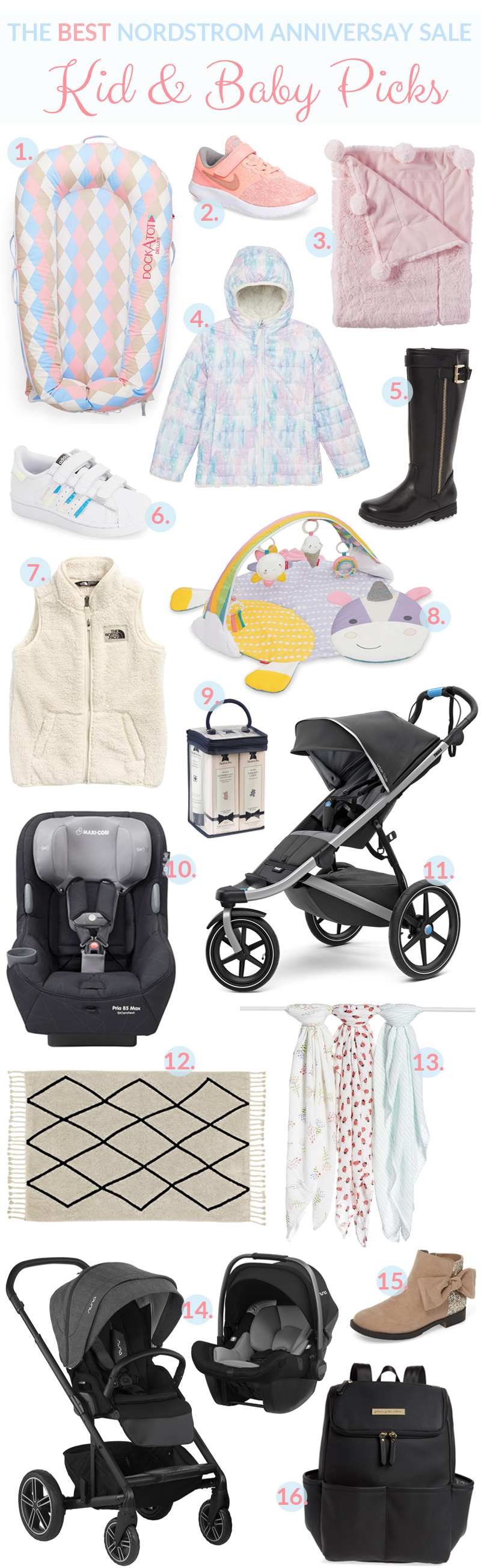 The Best Nordstrom Anniversary Sale Kid & Baby Picks