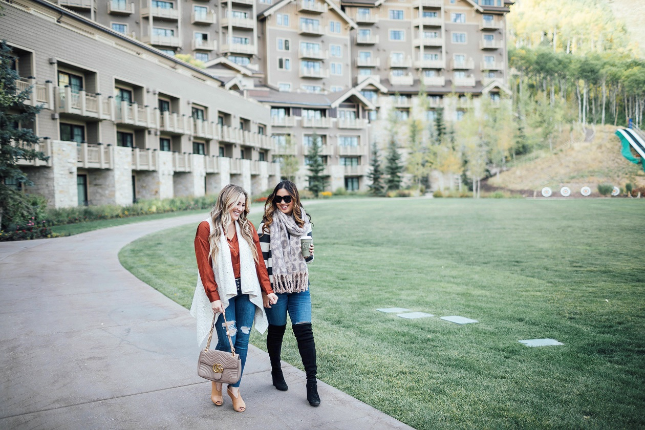 Fall fashion: 5 Essential Layering Pieces featured by popular fashion blogger, Walking in Memphis in High Heels