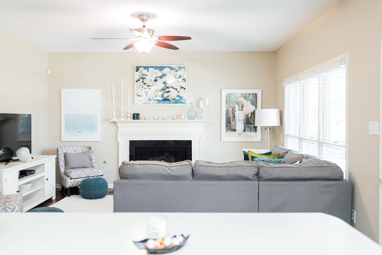 Living Room Update featured by top lifestyle blogger, Walking in Memphis in High Heels