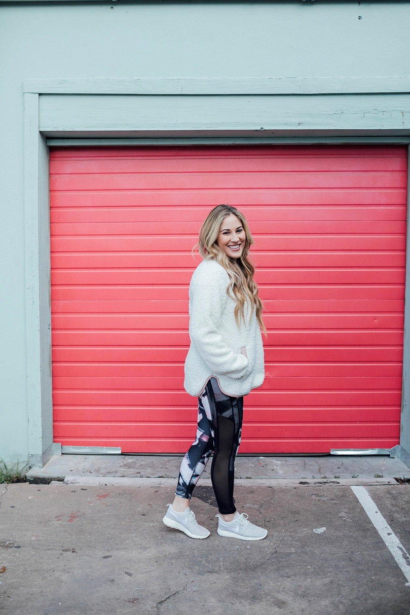 Fall athleisure featured by top fashion blog, Walking in Memphis in High Heels
