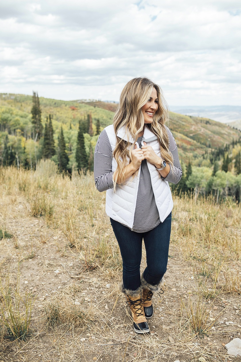 Top Places to Go Hiking in the Fall featured by top travel blogger, Walking in Memphis in High Heels: Park City