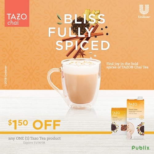 Dirty Chai Latte Recipe featured by top lifestyle blogger, Walking in Memphis in High Heels / Tazo Tea Coupon